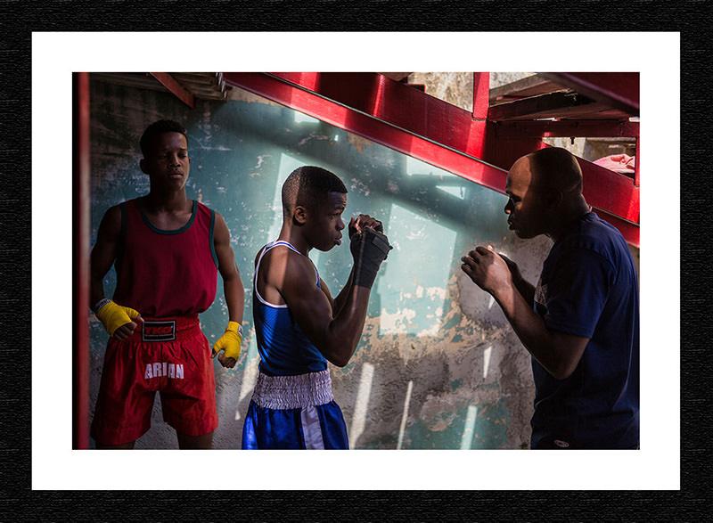Fine Art Print-Cuba Boxing Club