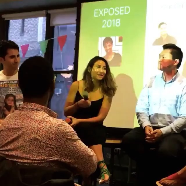 #TB to when we got to watch @romyr001 talk about wellness, the beverage industry, and empowering young entrepreneurs! Thank you @exponycfest and @wework for having us be part of this inspiring pool of future makers 😊 ⠀ #livemeta #dothebrew #metabrew #lowcaffeine #nyc #mctoil #panel #startuplife #foodpreneur