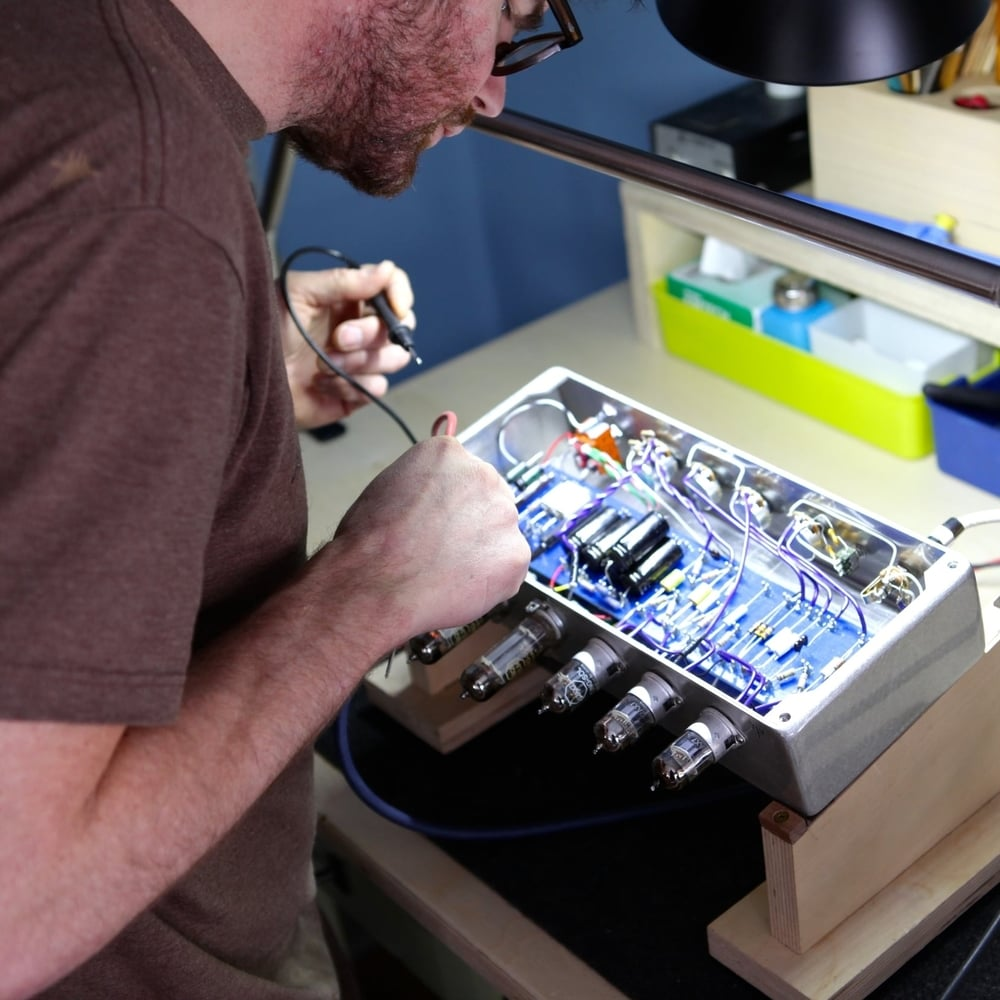 TUBE AMPLIFIER REPAIR