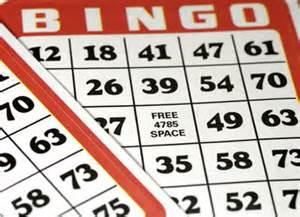 Sample bingo card