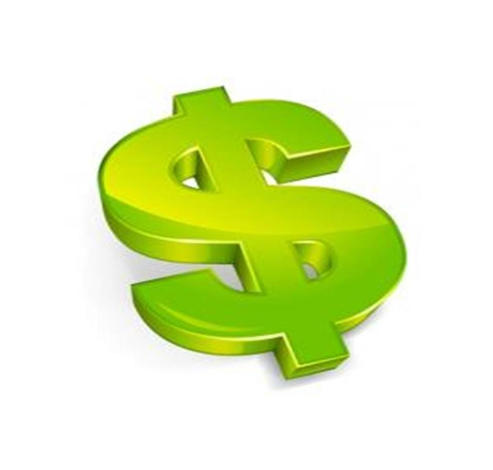 Green Money Symbol