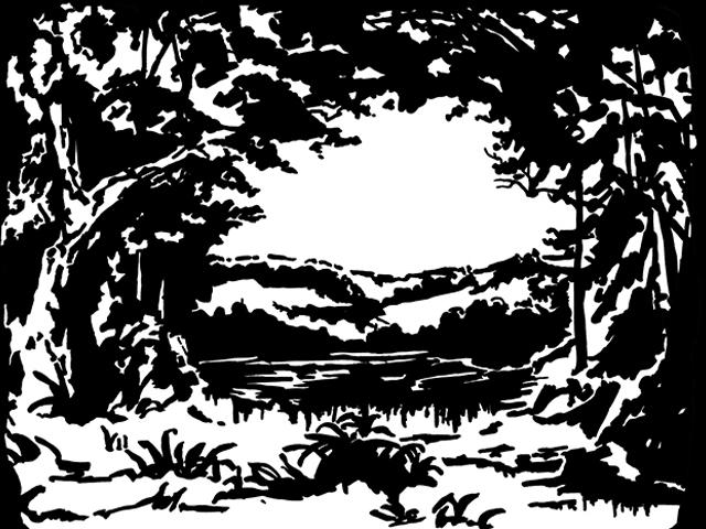 The original Sleeping Beauty lakescene provided by Chelsea Warren.