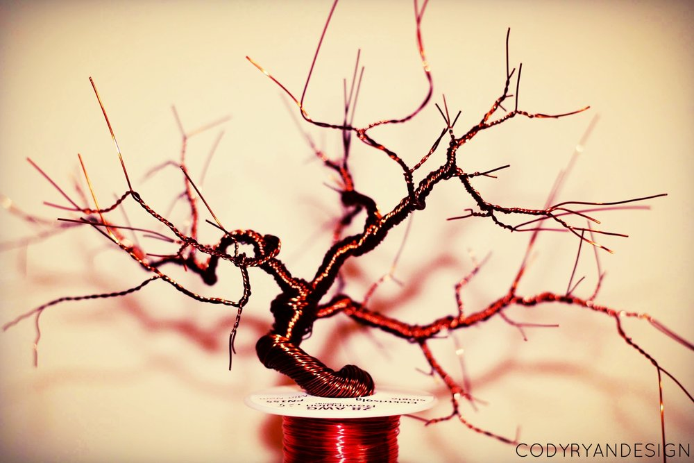 BONSAI WITH WIRE
