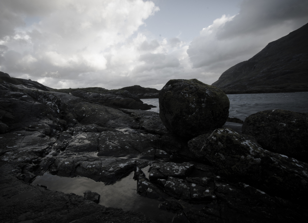 Loch Scavaig - Elements