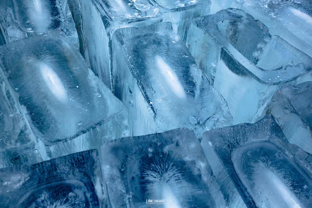 There is something incredibly simple and naturally beautiful about frozen water. These giant ice cubes demonstrate the point perfectly. © L LONSDALE 2017