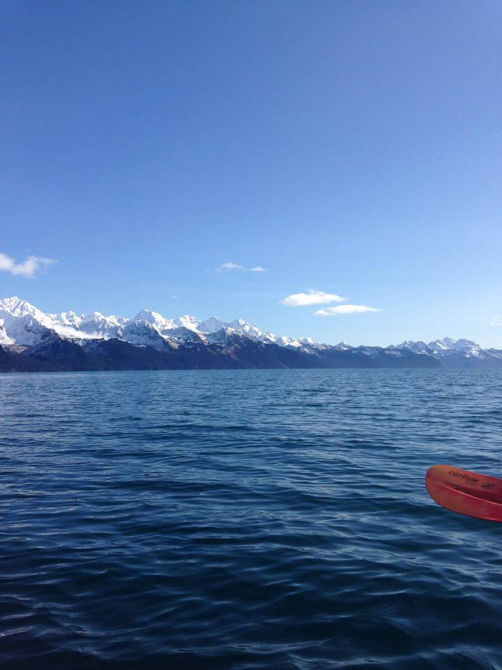Kayaking Seward, Alaska