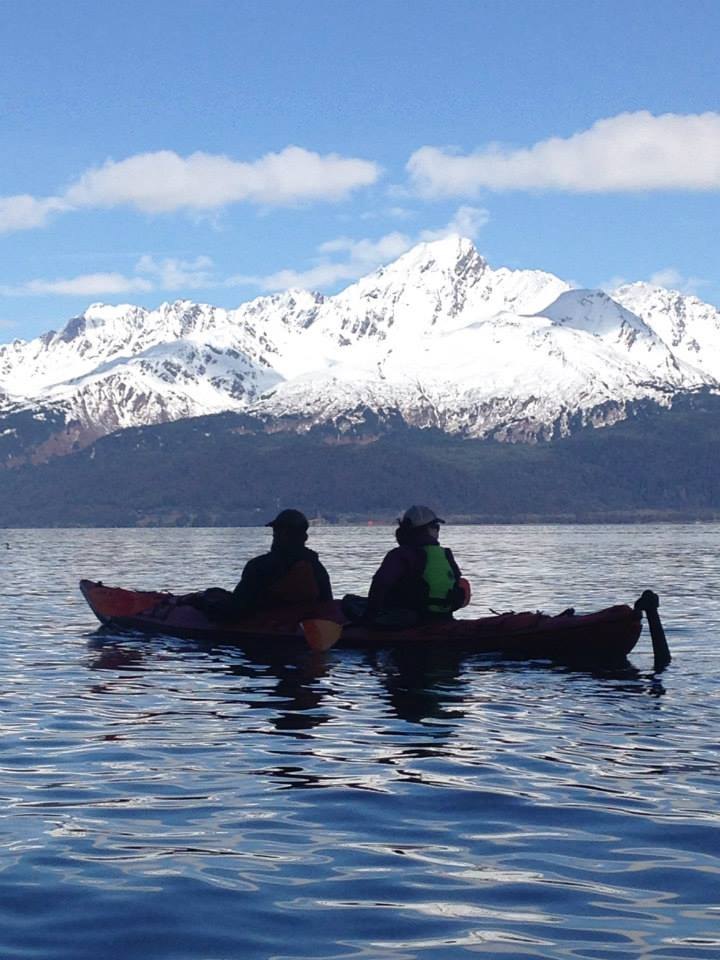 Kayaking Resurrection Bay