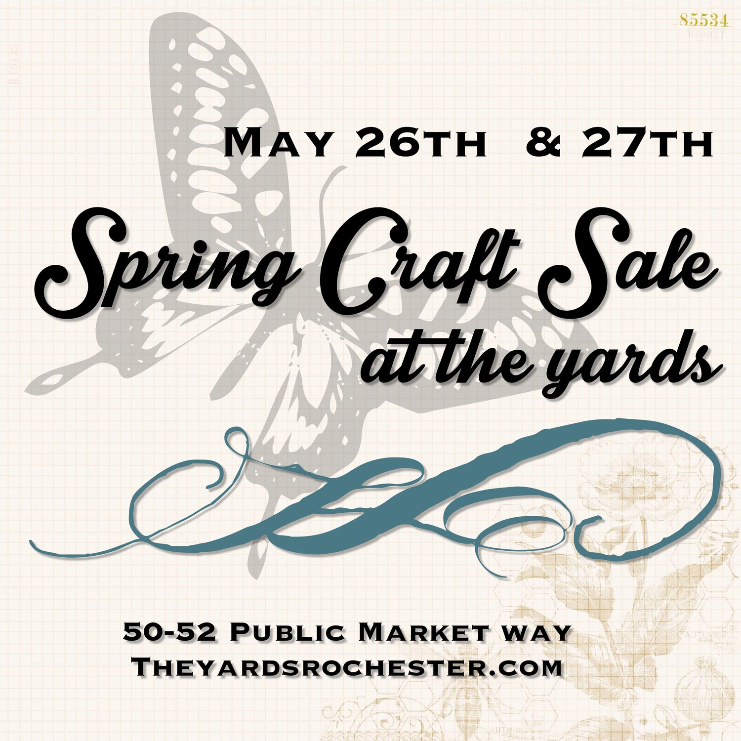 Spring Craft Sale The Yards Collective