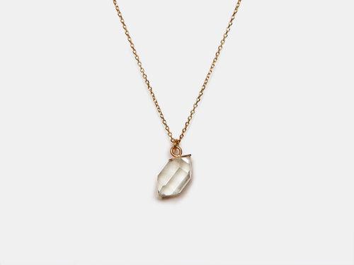 Atsuko bauman herkimer quartz 14k necklace hpf christopher atsuko bauman herkimer quartz 14k necklace aloadofball Image collections
