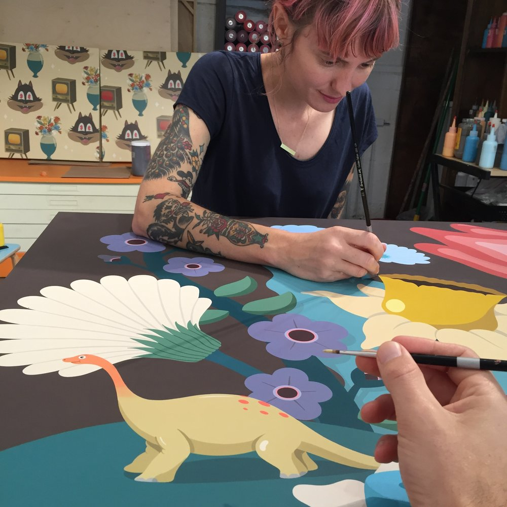 Myla painting