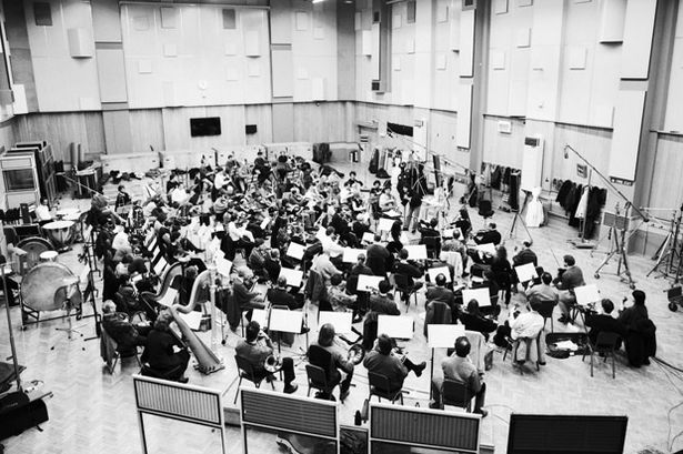Inside Abbey Road Studio - London Symphony Orchestra recording in Studio 1 in 1993.jpg