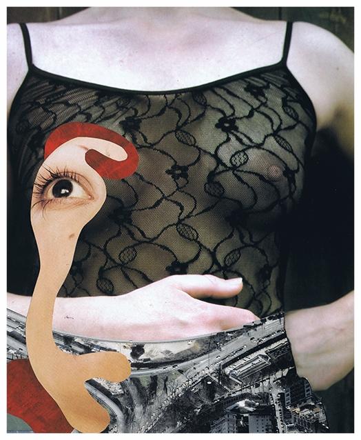 Handmade collage 18.50 x 22.50 cm