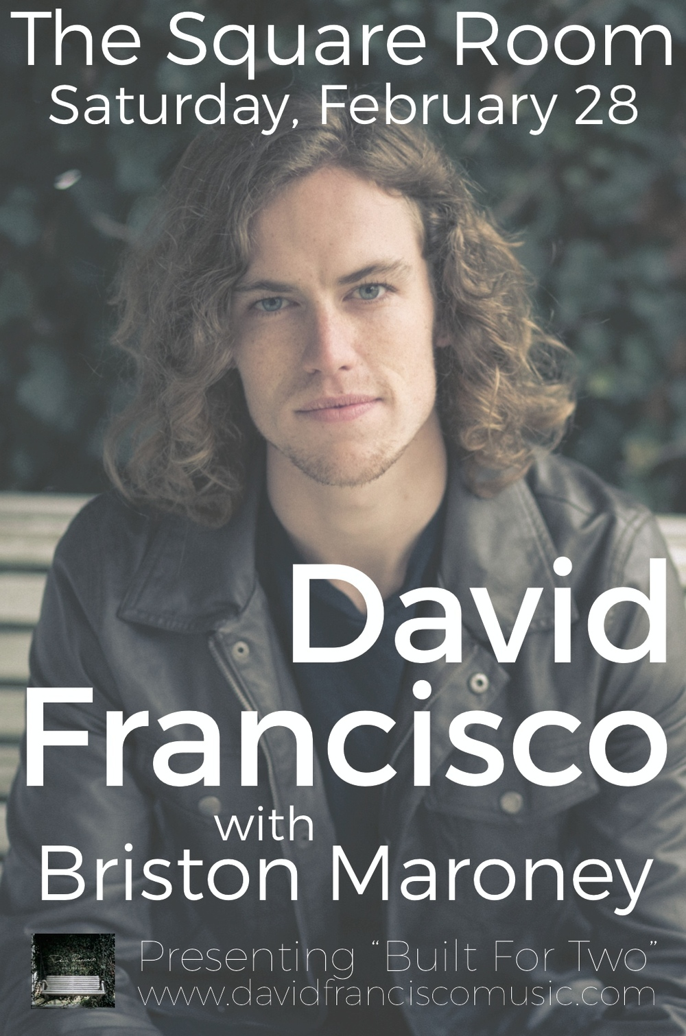 David Francisco Publicity Flyer