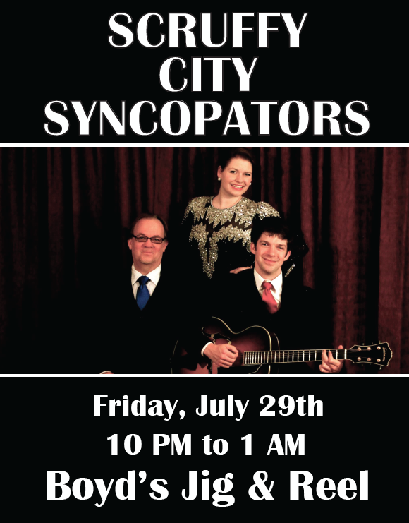 Syncopators Flyer