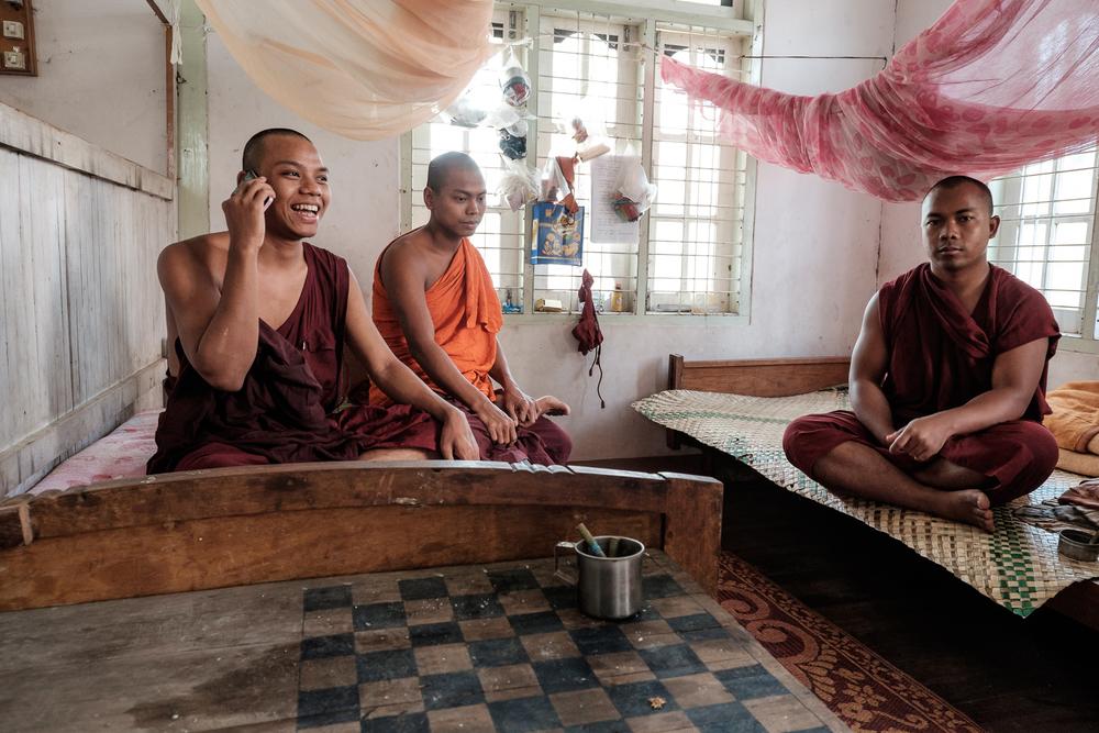 Inle Lake - Monastery in Nyaung Shwe