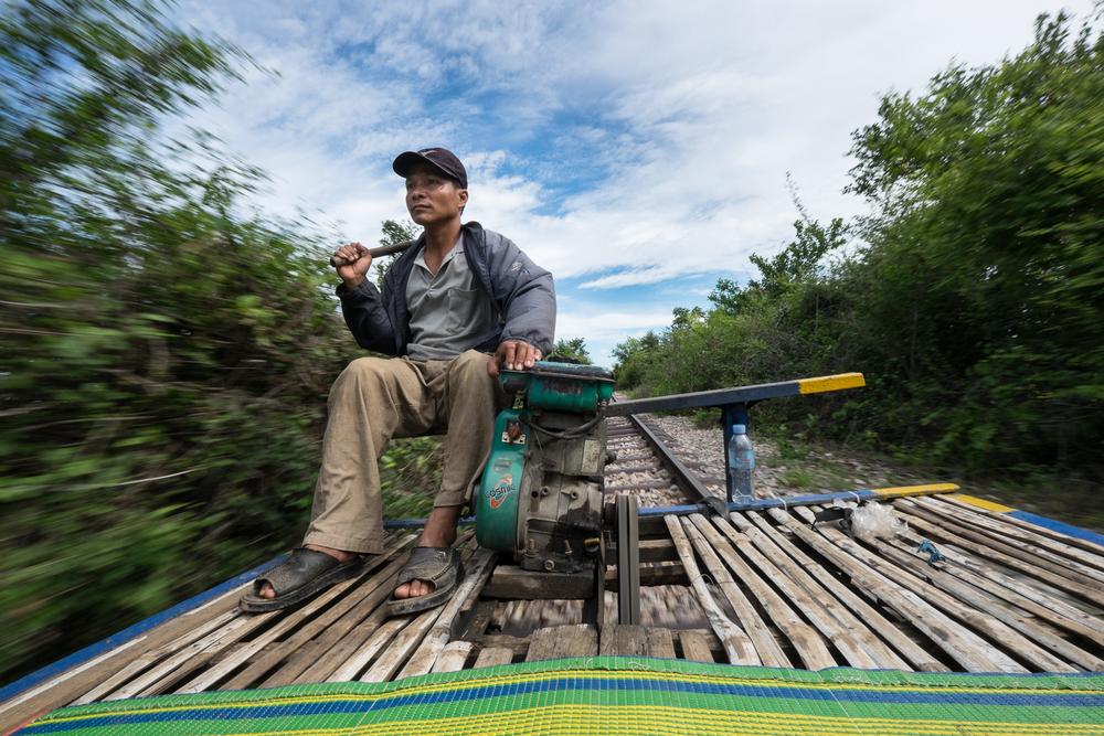 Batambang - Bambu train