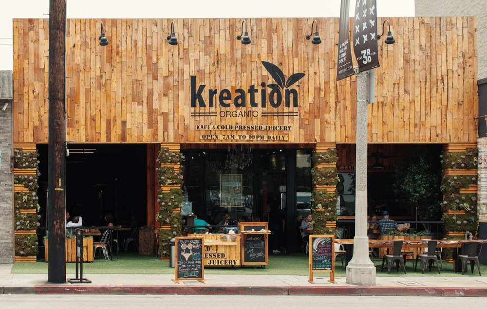 BEST JUICE SPOT:     Kreation Juice