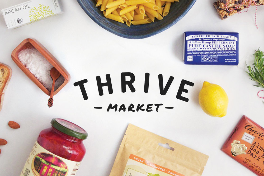 Thrive Market - promo code: use this link