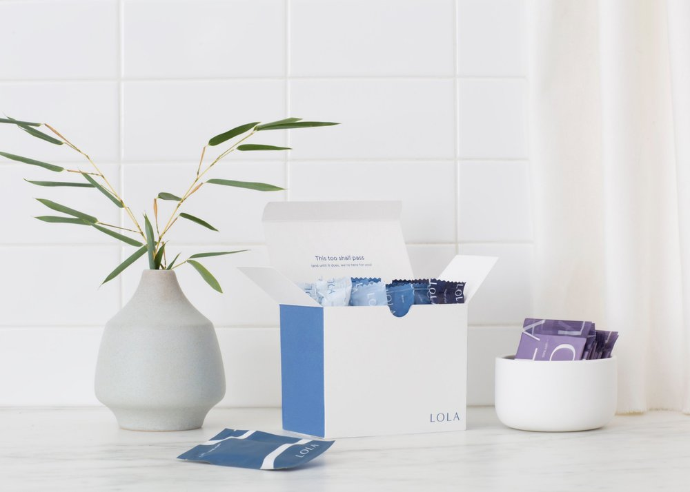 Lola Feminine Products - 40% off your first month / promo code: Retrtograde40