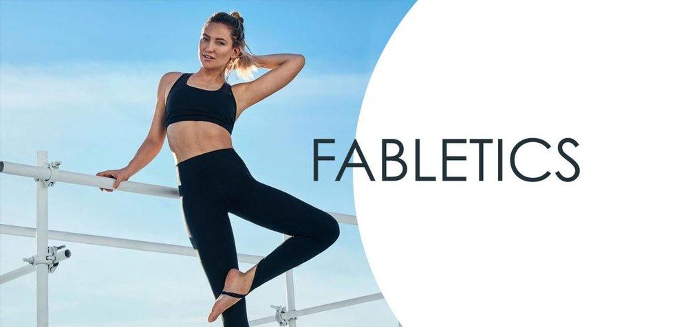 Fabletics - fabletics.com/RETROGRADE / 2 pairs of leggings for $24
