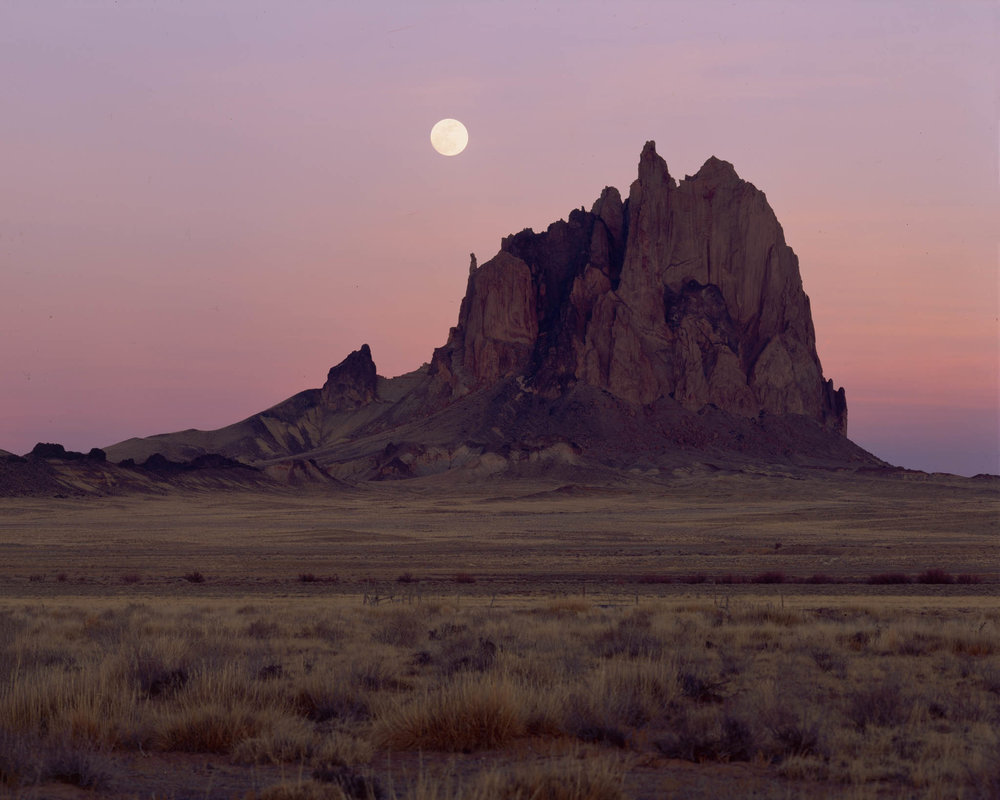 SHIPROCK PURPLE SUPERMOON