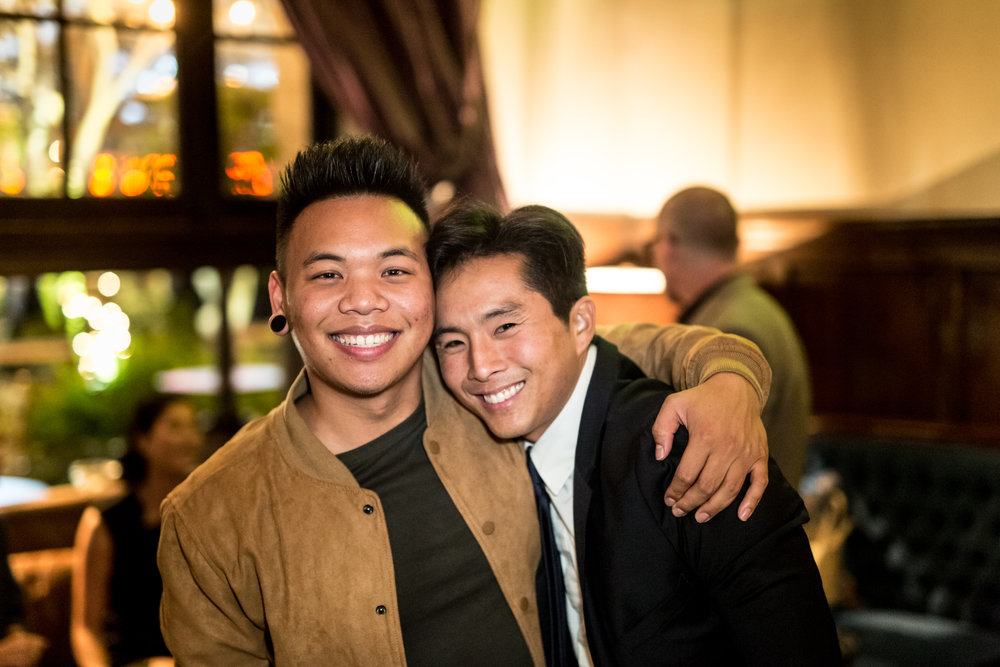 Justin Chon and Aj Rafael