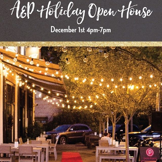 Come out #tomorrow for The A&P Holiday Open House and grab a #ramen bowl or Dough Bird burger on your way home! #kudzunoodlebar #eastmeetssouth #holidays #comfortfood #aplofts #eatmgm