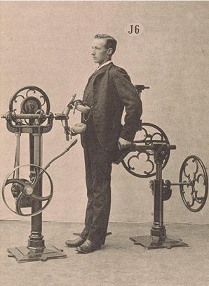 Gustav Zander's Abdominal Kneading Machine