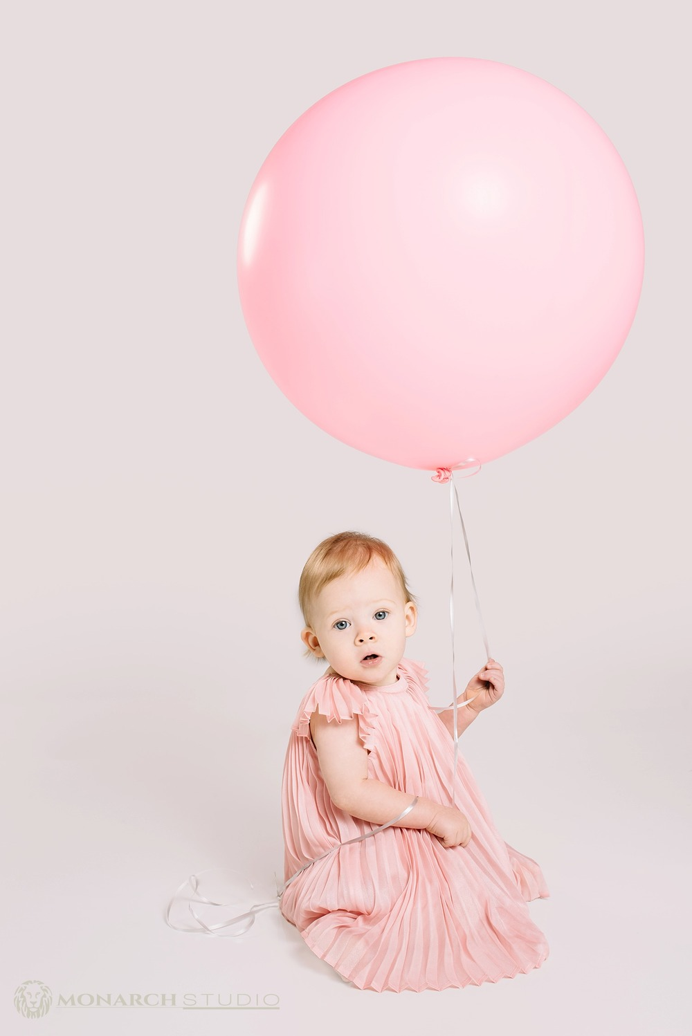 First Birthday Balloon Kids Photography