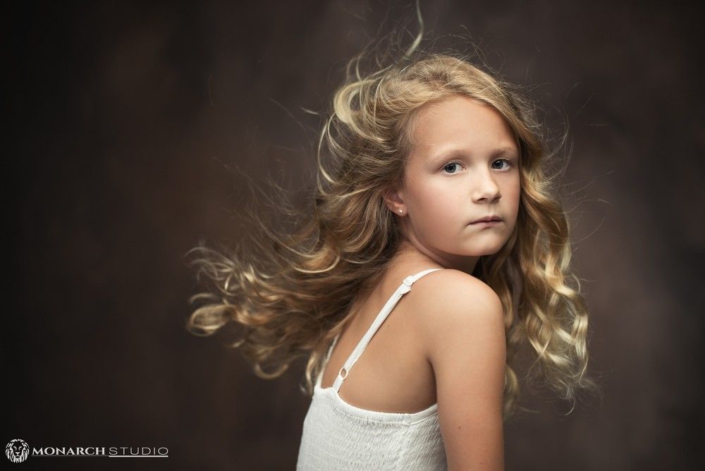 Styled children's portrait photography from Monarch Photography Studio.