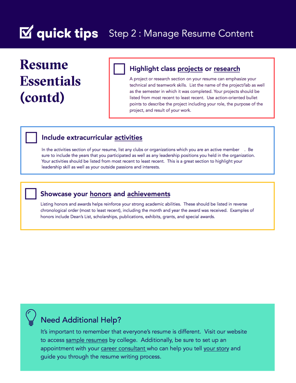 sections of a resume chief executive sample resume housing