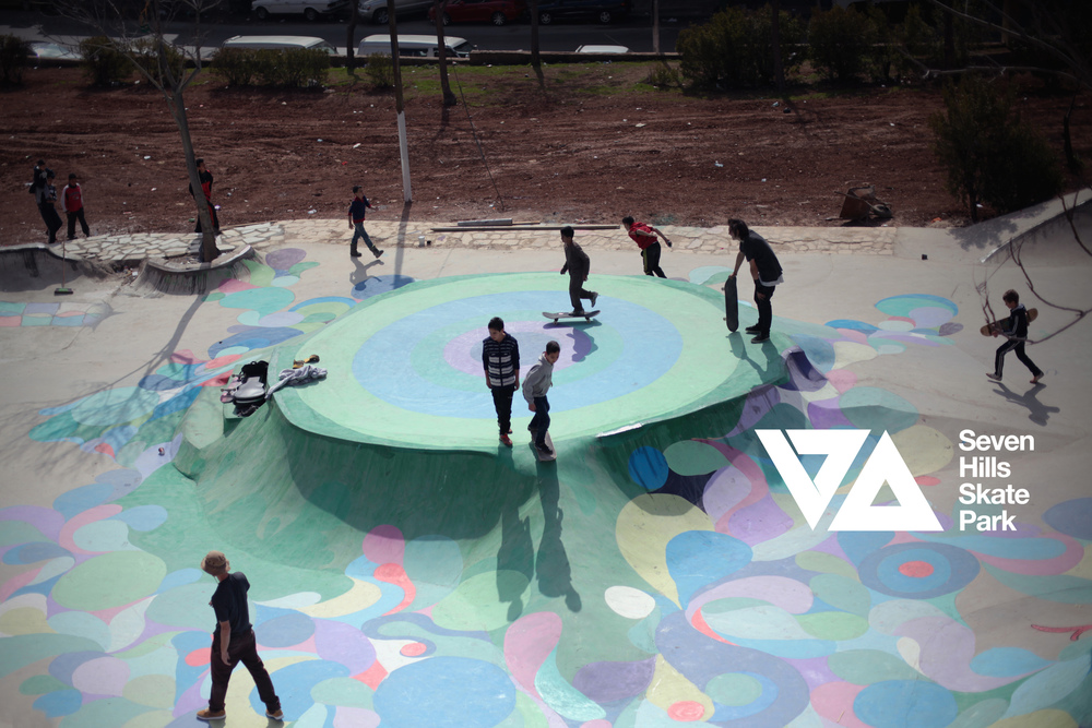 7Hills Skatepark - Amman, Jordan