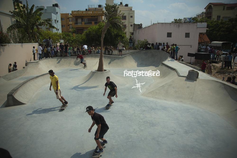 Holystoked Skatepark - Bangalore, India