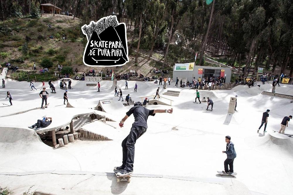 Pura Pura Skatepark - La Paz, Bolivia