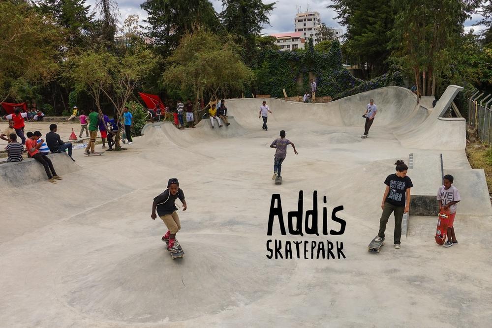 Addis Skatepark - Addis Ababa, Ethiopia
