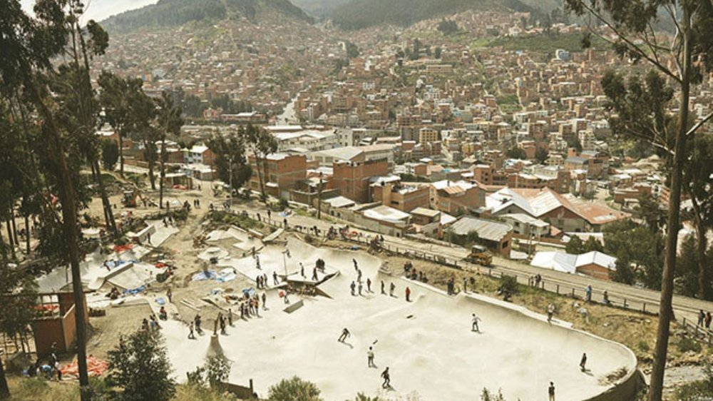 Bolivia Has a Fancy New Skatepark - VICE MAGAZINE