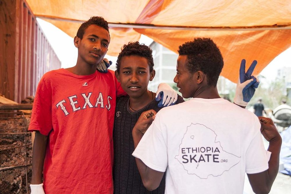 Ethiopia's first skate park opens inAddis Ababa - Roderick Macleod, BBC News