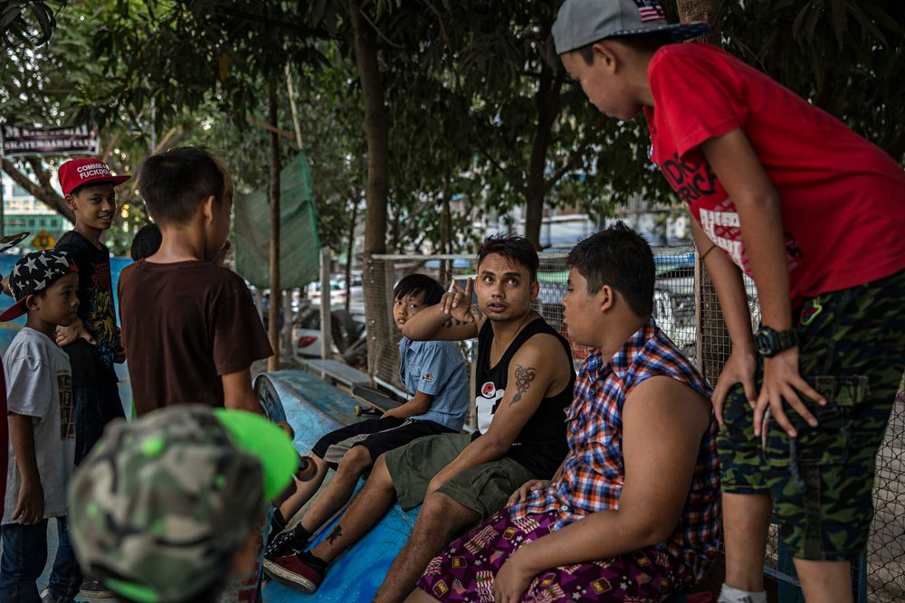 Burmese boards: how a skatepark is changing the face of Yangon - Oliver Slow, The Guardian
