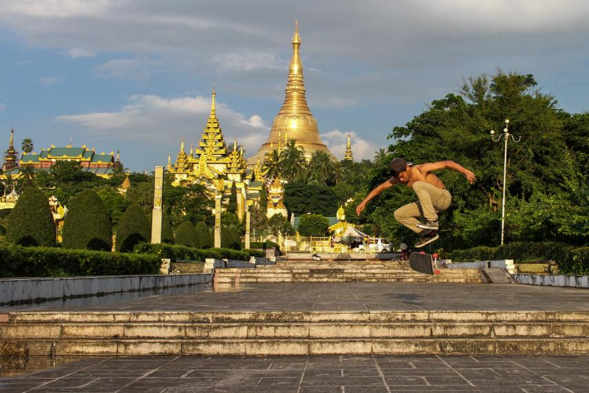 Crowdfunding Raises Thousands of Dollars to Build Skate Park in Yangon - Lucy Westcott, Newsweek