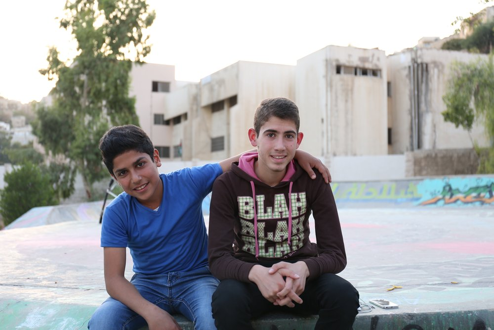 """Amman Skatepark a """"Melting Pot"""" for Locals and Refugees - Hiba Dlewati,National Geographic"""