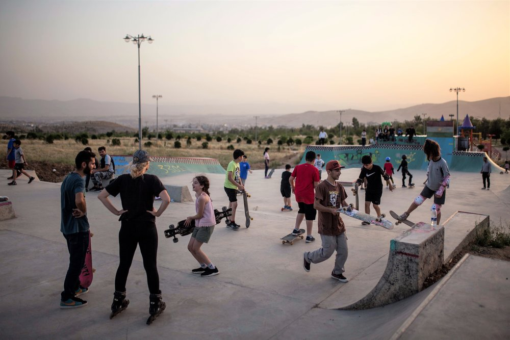 Suli Skatepark, Iraq