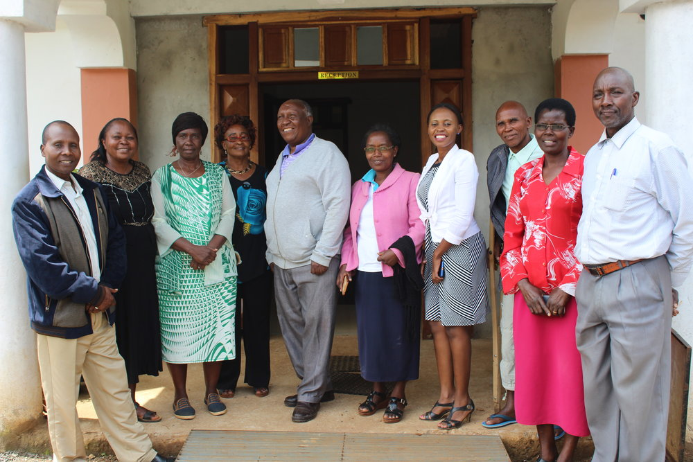 KENYAN BOARD OF DIRECTORS   Our Kenyan Board of Directors guide our programs in Kenya and help us ensure we are