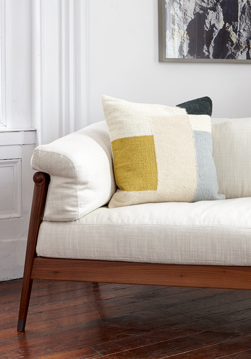 BF Home Ferm Living Cushion on sofa