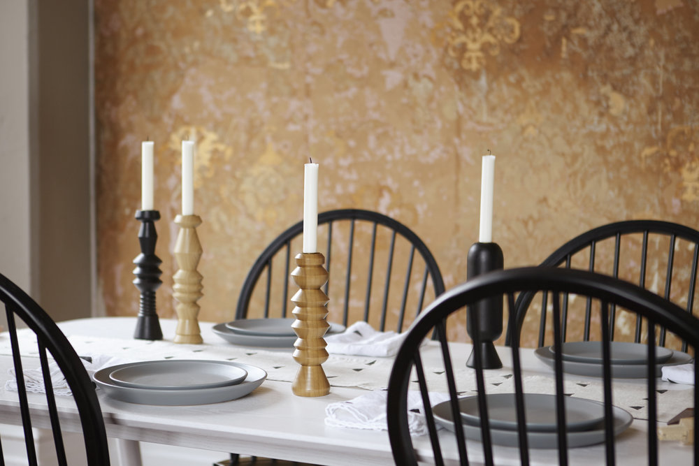 Brush Factory Home Dining room candles