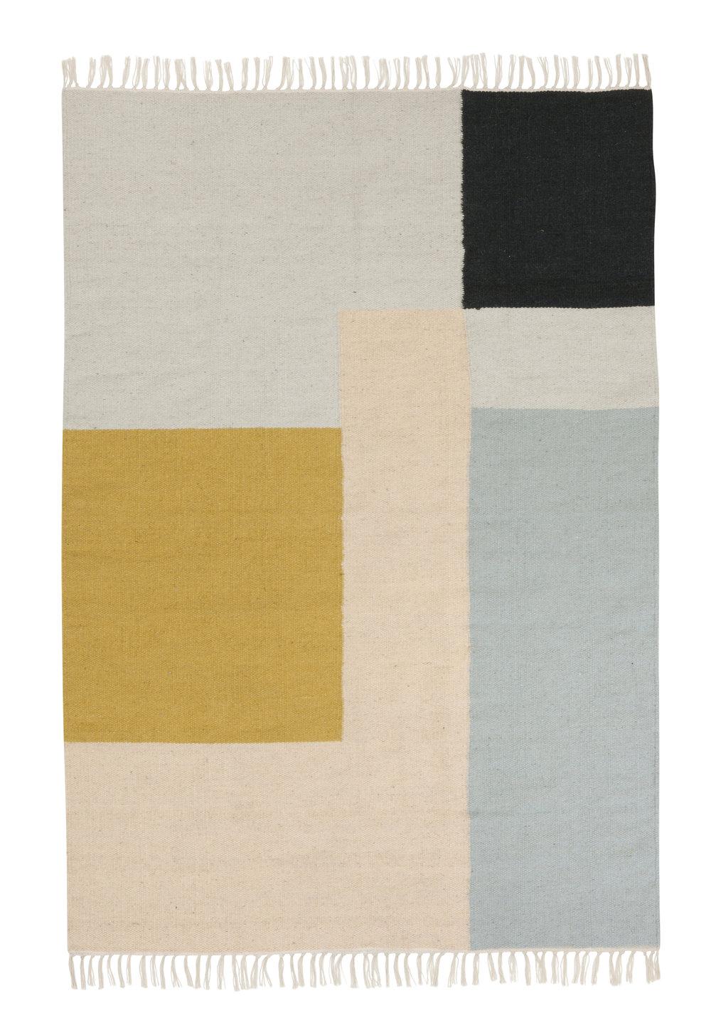 Ferm Living squares rug