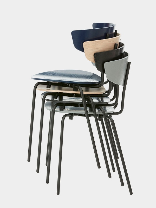 ferm LIVING stacking chairs