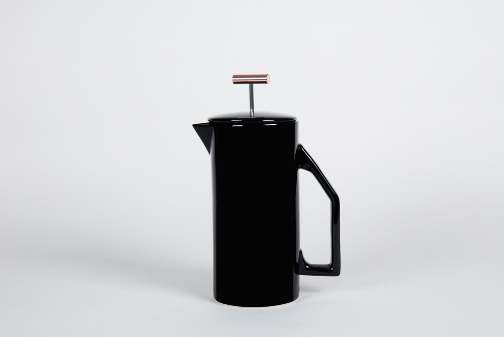 Yield Design Company ceramic coffee press