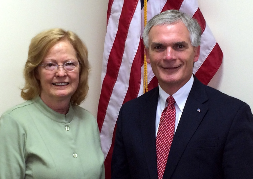 Dr. Jeanne Brockmyer and Rep. Bob Latta (R-OH)