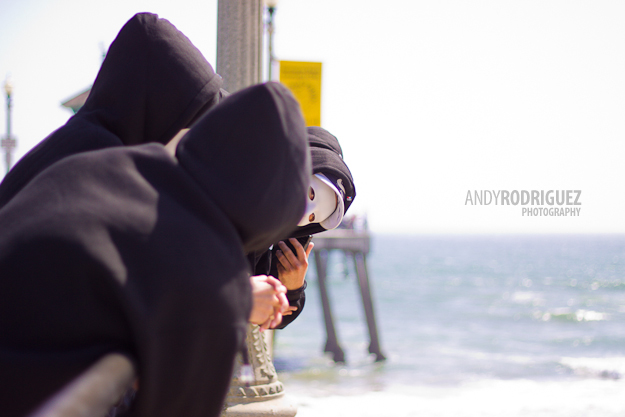 Huntington Beach Pier Marriage Proposal
