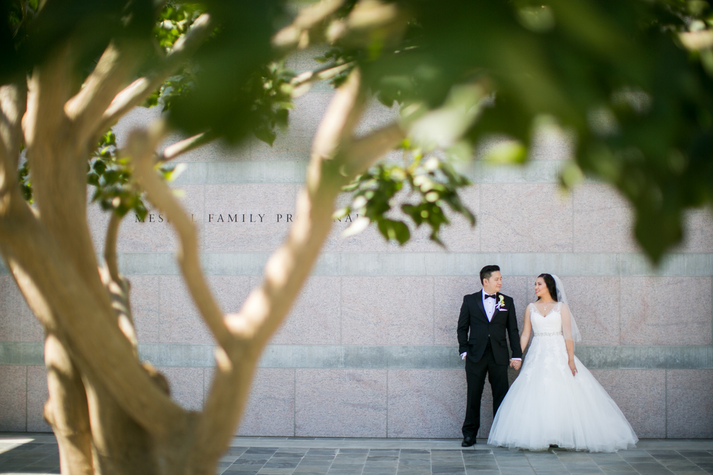 Skirball Wedding Portrait